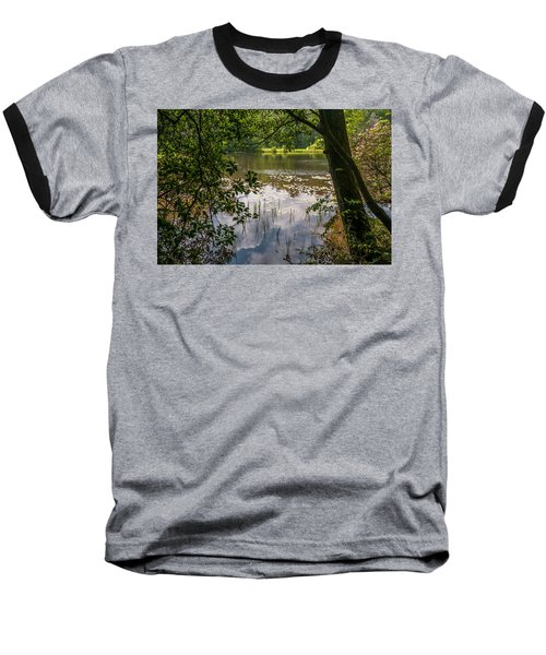 Pond In Spring Baseball T-Shirt