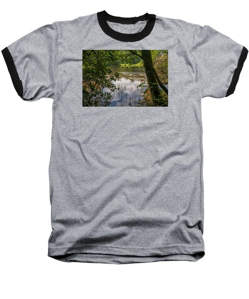 Pond In Spring Baseball T-Shirt