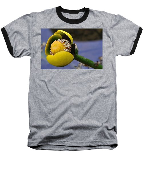 Pond Lily In Bloom Baseball T-Shirt