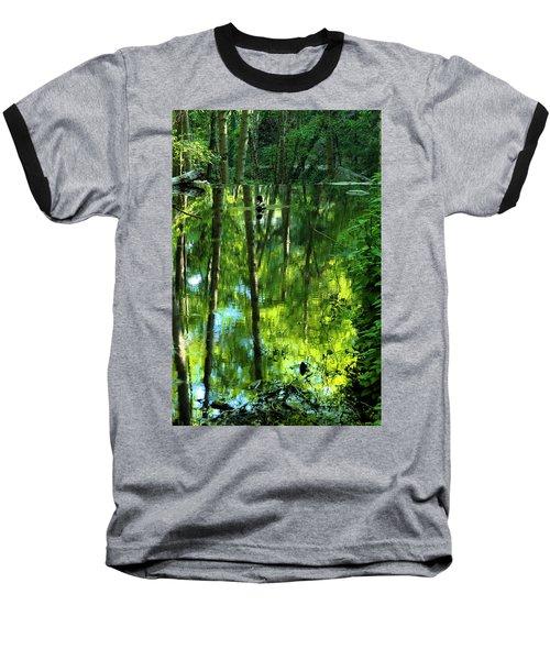 Pond On Gabrielino Trail Baseball T-Shirt