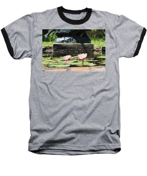 Pond Palette Baseball T-Shirt by Ed Waldrop