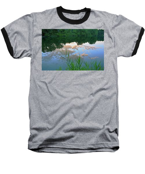 Pondering Baseball T-Shirt by Angelo Marcialis