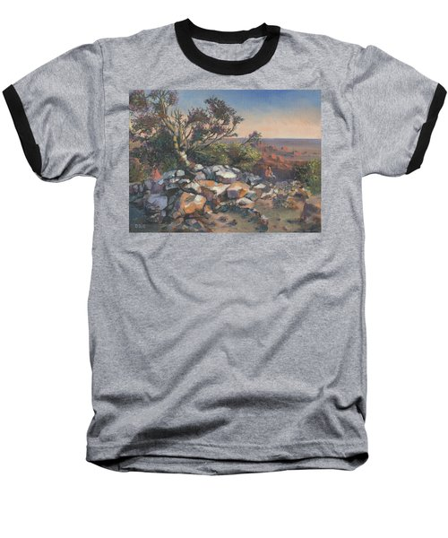 Pondering By The Canyon Baseball T-Shirt