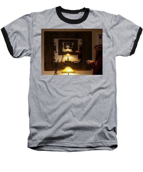 Pondering Infinity Baseball T-Shirt