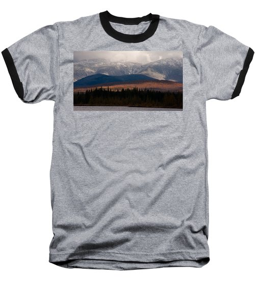 Pondicherry Light And Snow Baseball T-Shirt