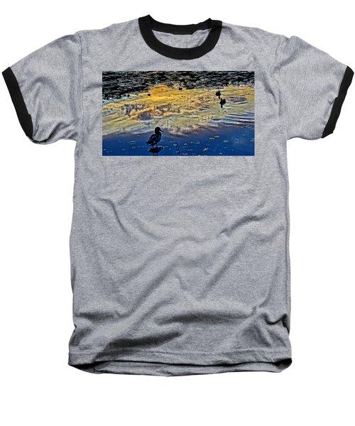 Pondscape Baseball T-Shirt