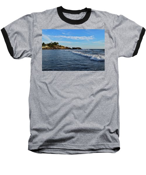 Poneloya Beach Before Sunset Baseball T-Shirt