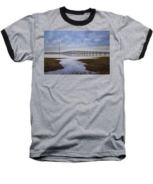 Ponquogue Bridge Hampton Bays Ny Baseball T-Shirt