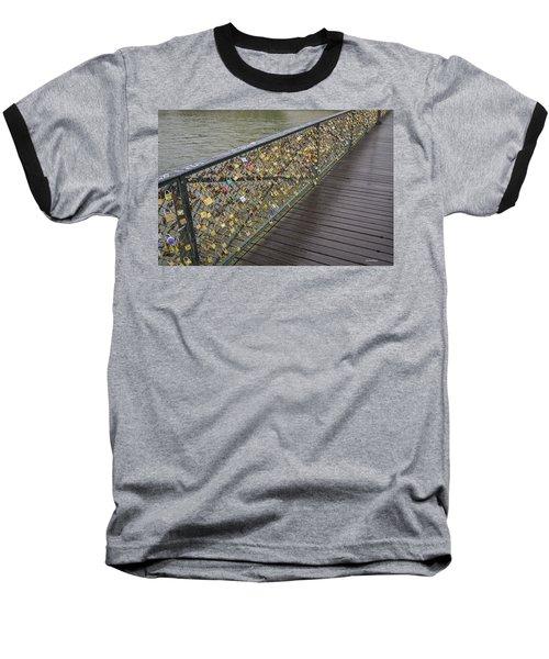Pont Des Artes Baseball T-Shirt