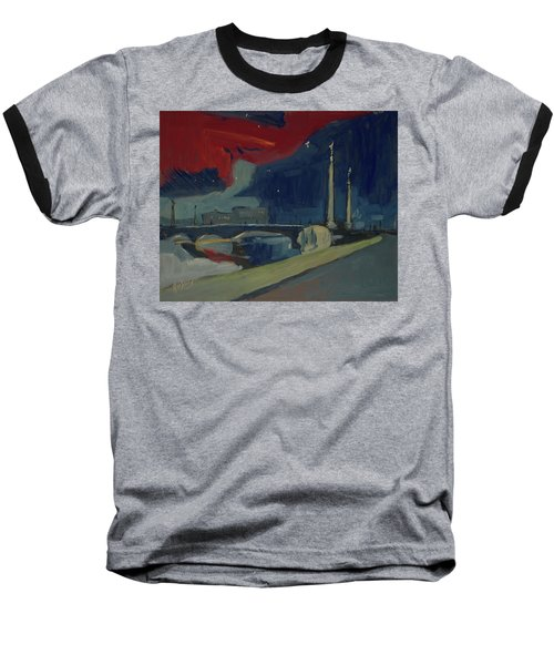 Pont Fragnee In Liege Baseball T-Shirt