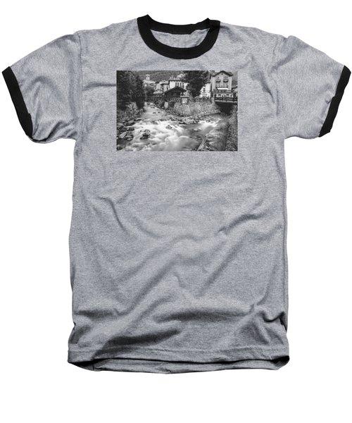 Ponte Di Legno  Baseball T-Shirt by Cesare Bargiggia
