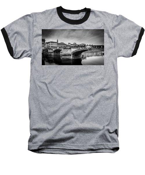 Baseball T-Shirt featuring the photograph Ponte Santa Trinita by Sonny Marcyan
