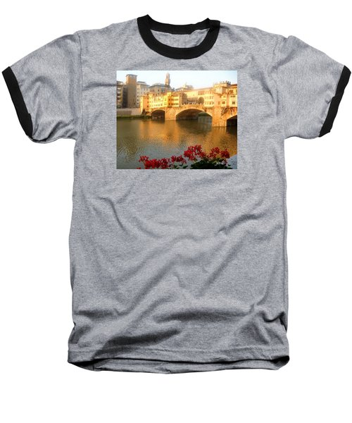 Ponte Vecchio In Florence Baseball T-Shirt