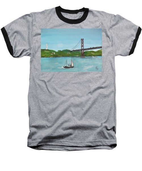 Ponte Vinte E Cinco De Abril Baseball T-Shirt by Carole Robins