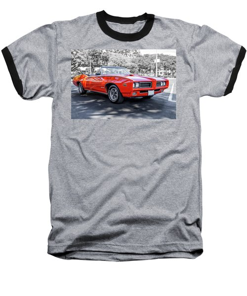 Pontiac G T O Judge Baseball T-Shirt
