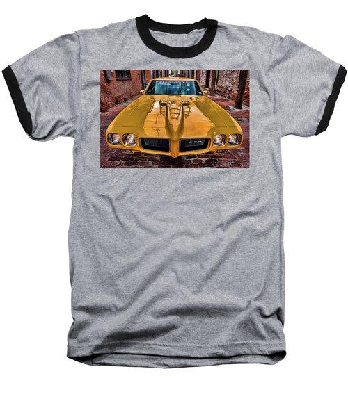 Pontiac Gto - The Judge Baseball T-Shirt