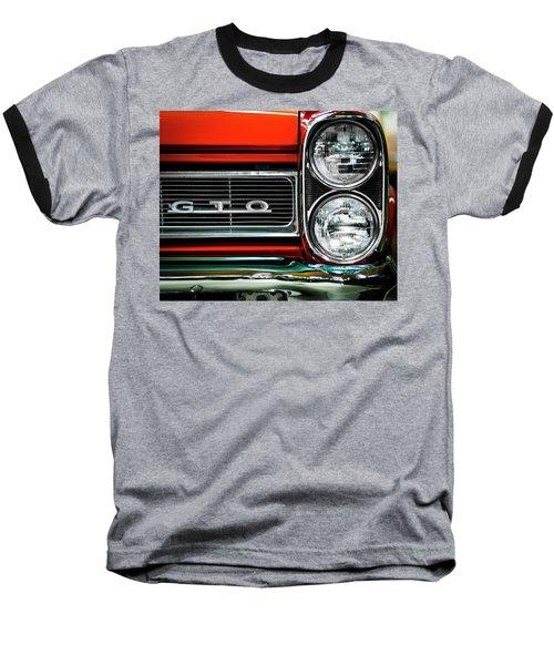 Pontiac Gto Baseball T-Shirt