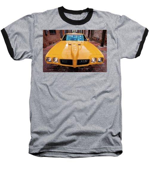Pontiac Muscle Baseball T-Shirt