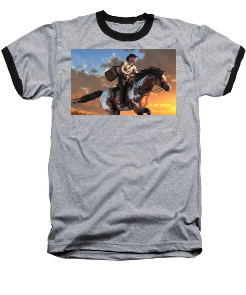 Pony Express Baseball T-Shirt