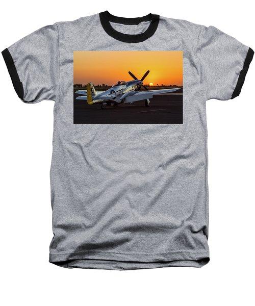 Pony In Repose Baseball T-Shirt