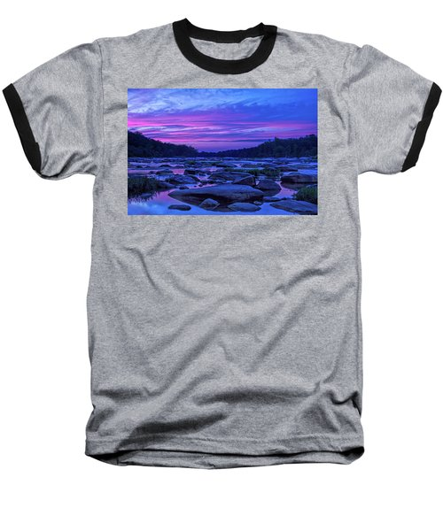 Pony Pasture Sunset Baseball T-Shirt