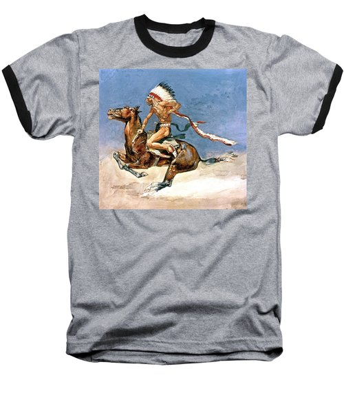 Pony War Dance Baseball T-Shirt