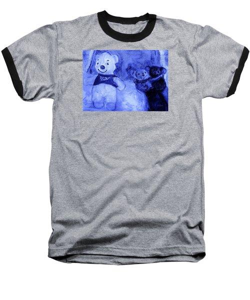 Pooh Bear And Friends Baseball T-Shirt