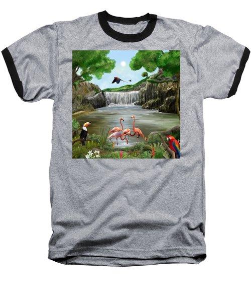 Pool Party Baseball T-Shirt