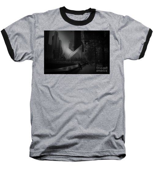Baseball T-Shirt featuring the photograph Pool Station, Bw by Paul Cammarata