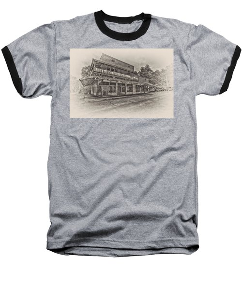 Poole's Crossroad In Sepia Baseball T-Shirt