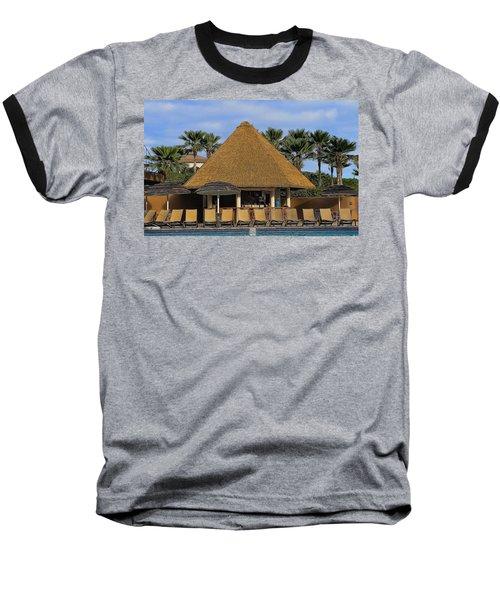 Poolside Drinks Baseball T-Shirt