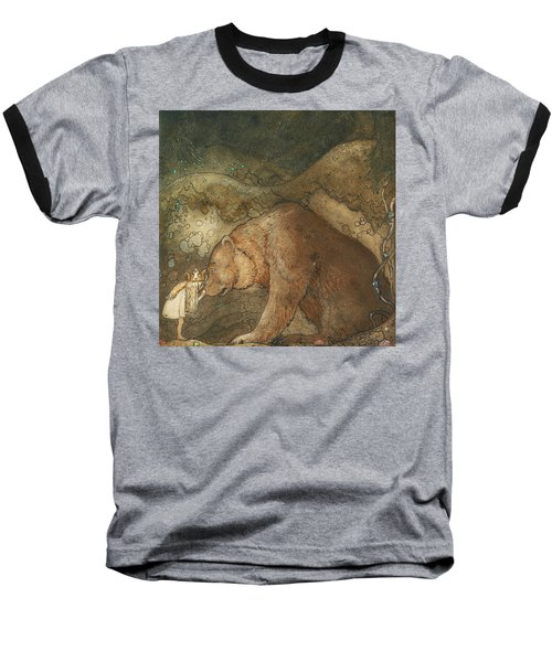 Poor Little Basse Baseball T-Shirt