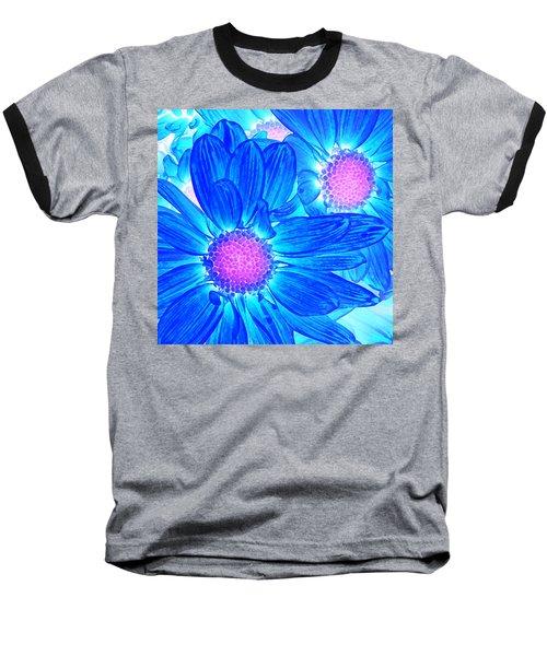 Pop Art Daisies 6 Baseball T-Shirt