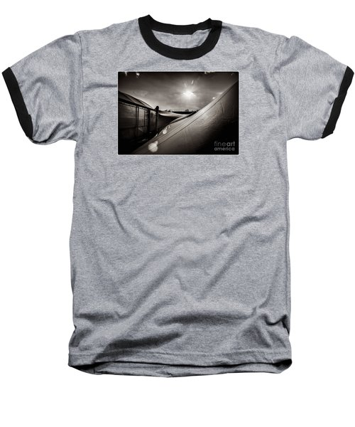 Baseball T-Shirt featuring the photograph Pop Brixton Has A New Roof by Lenny Carter