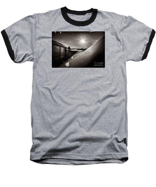Pop Brixton Has A New Roof Baseball T-Shirt by Lenny Carter