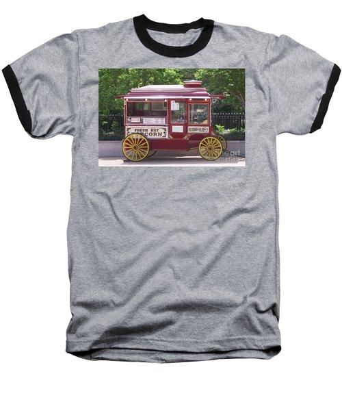 Popcorn Wagon Baseball T-Shirt