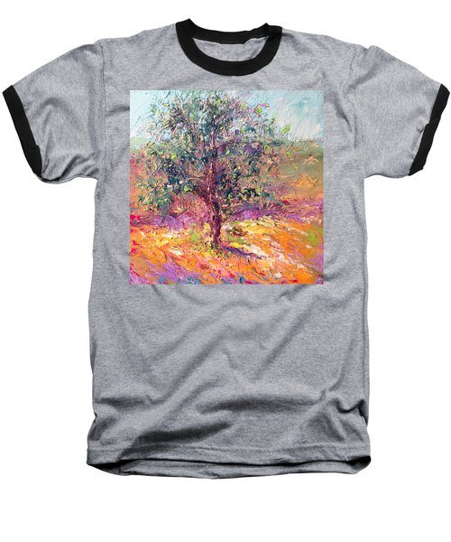 Poppies And Lupine Baseball T-Shirt