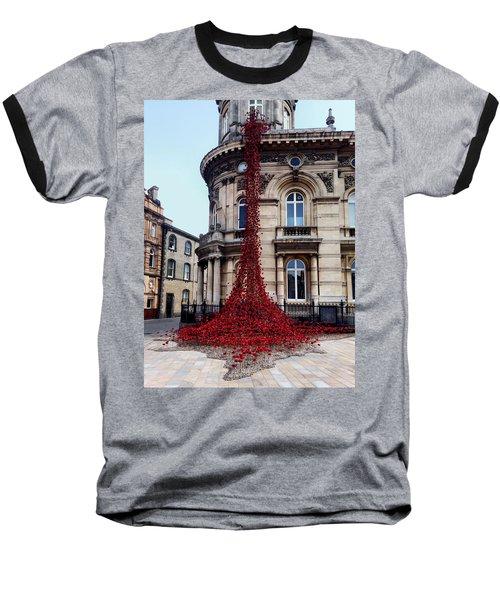 Poppies - City Of Culture 2017, Hull Baseball T-Shirt