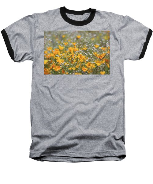 Baseball T-Shirt featuring the photograph Poppies Fields Forever  by Saija Lehtonen