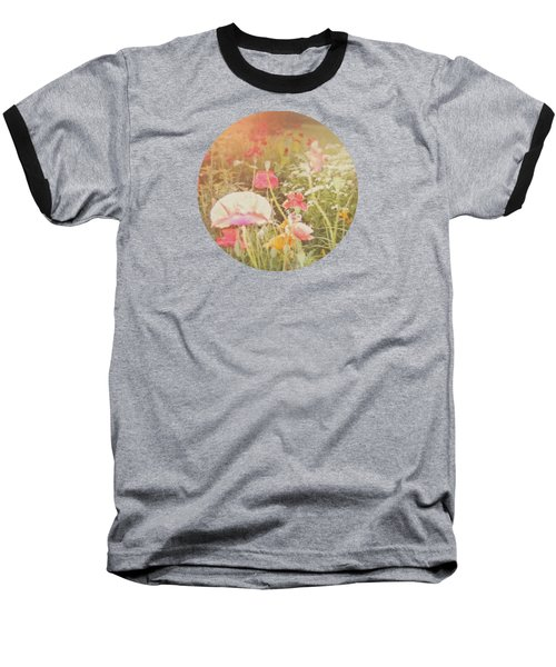 Poppies In The Light Baseball T-Shirt