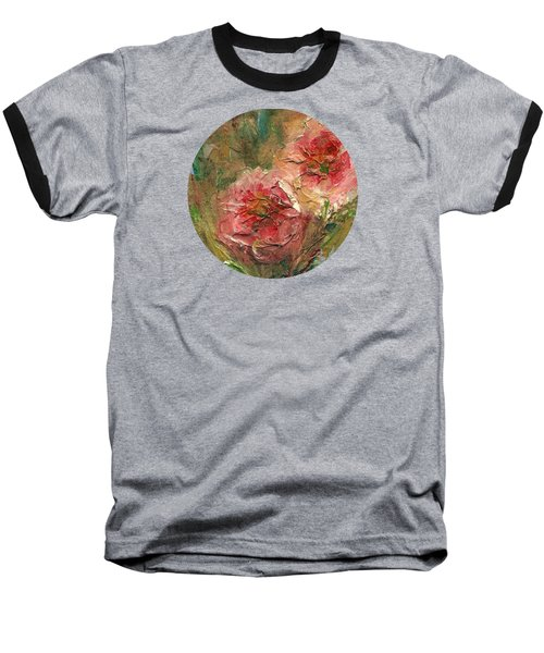 Poppies Baseball T-Shirt by Mary Wolf