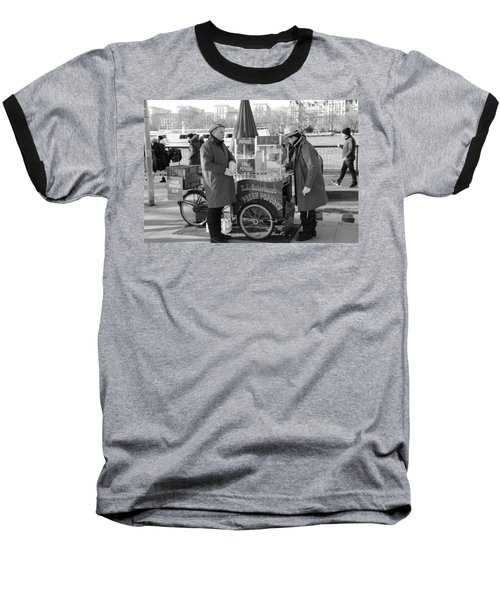 Popping In And Out Baseball T-Shirt