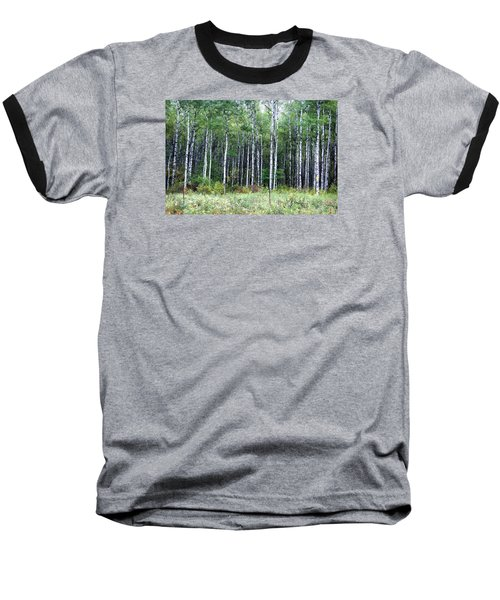 Popple Trees Baseball T-Shirt
