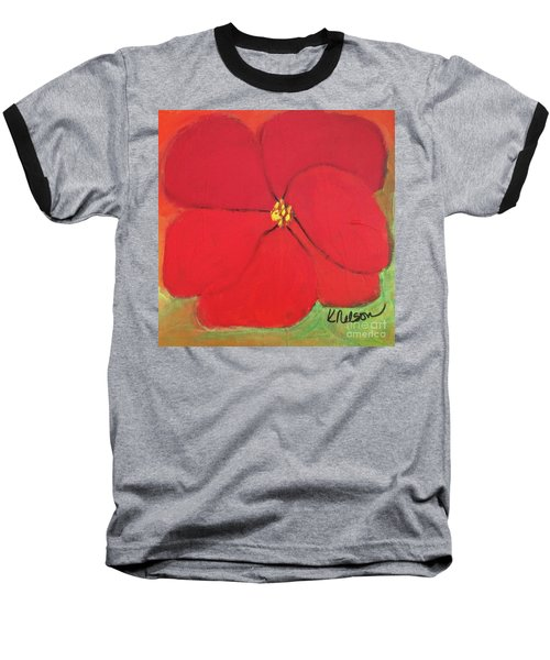 Poppy 2 Baseball T-Shirt
