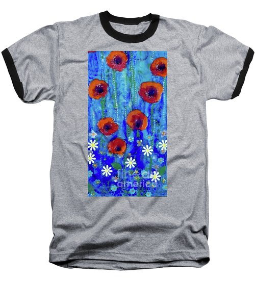 Poppy Dance Baseball T-Shirt