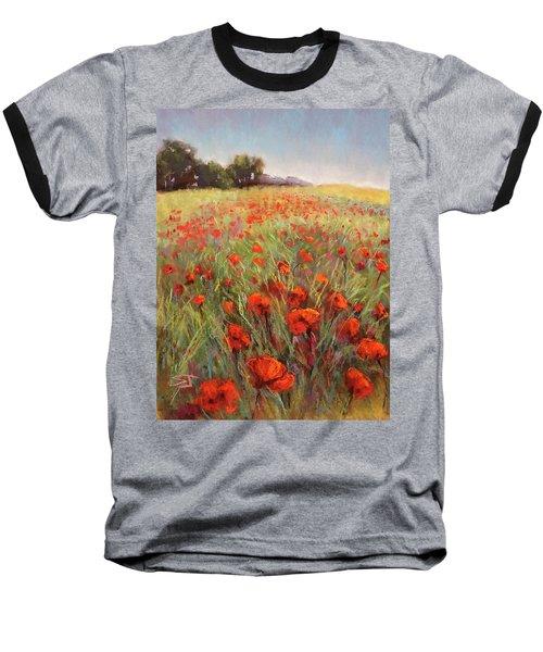 Poppy Dance Baseball T-Shirt