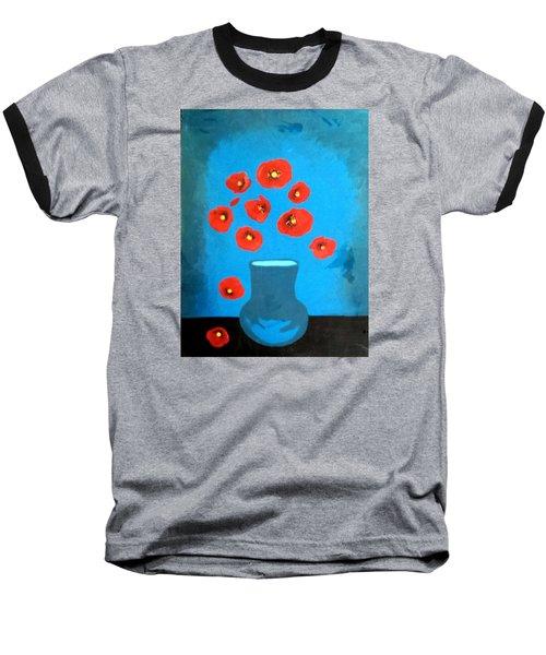 Poppy Dream Baseball T-Shirt