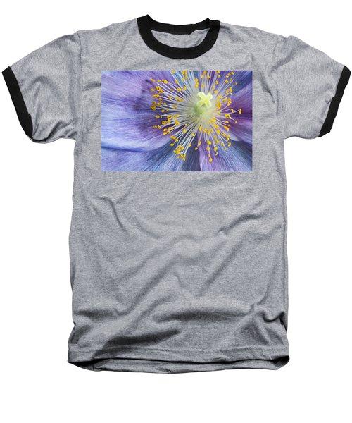 Poppy Fireworks Baseball T-Shirt