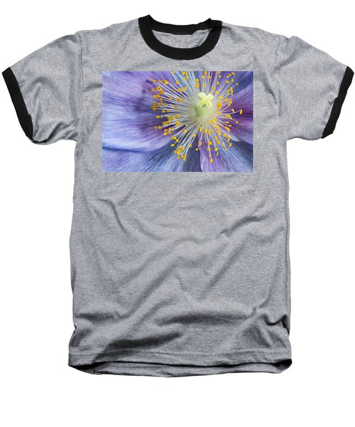 Poppy Fireworks Baseball T-Shirt