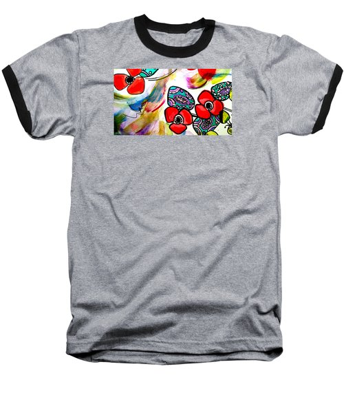 Poppy Fun Baseball T-Shirt
